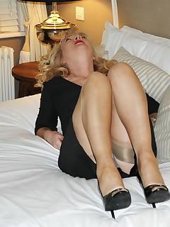Fetish stocking nylon sue phrase... super