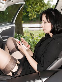 Think in and public sexy stockings heels speaking, obvious