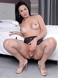 Stocking shemale porn