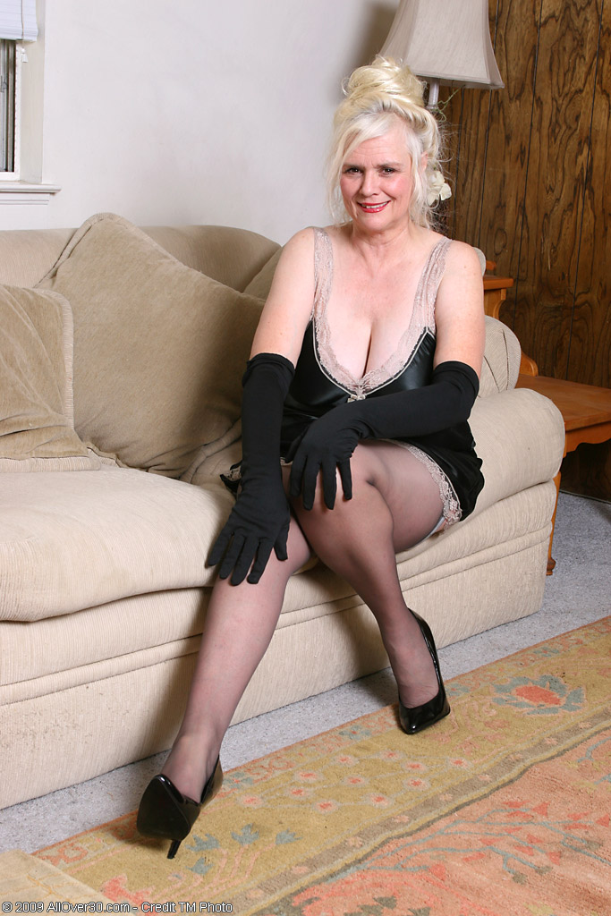 Old Granny Domination Stockings